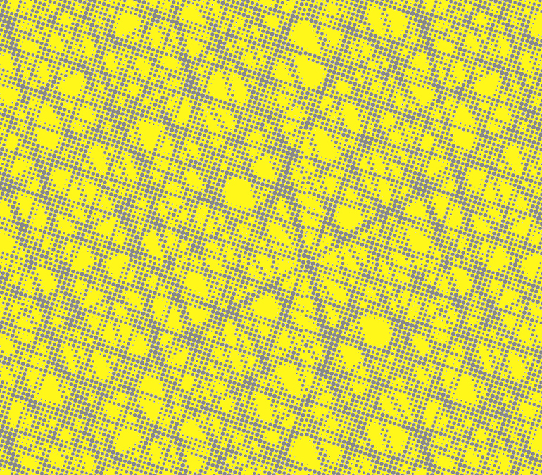 The gallery for beehive pattern wallpaper - Gray and yellow wallpaper ...