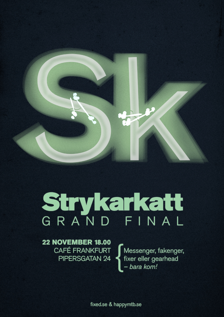 Poster-Strykarkatt